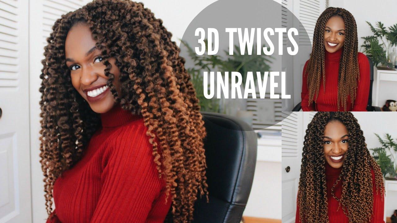 Unraveling crochet 3d split twists 3 styles in 1 youtube for Splity 3 en 1