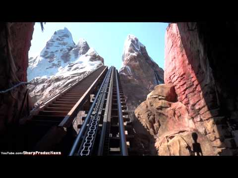 Expedition Everest (HD POV) Disney's Animal Kingdom Disney World Orlando