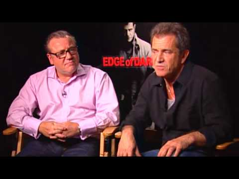 'Edge of Darkness' Interview w/  Mel Gibson and Ray Winstone