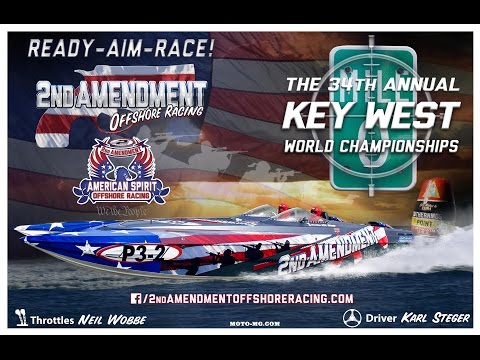 2014 Key West Offshore Racing Final Day aboard the 2nd Amendment