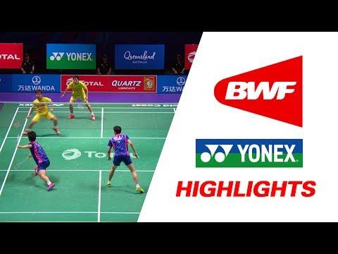 TOTAL BWF Sudirman Cup 2017 | Badminton SF – KOR vs THA – Highlights