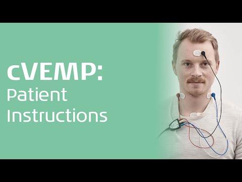 cVEMP - Patient instruction