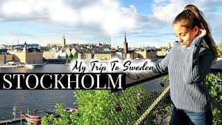 SWEDEN TRAVEL VLOG // EXPLORING STOCKHOLM