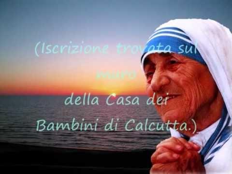 Frasi Di Madre Teresa Di Calcutta Sui Bambini