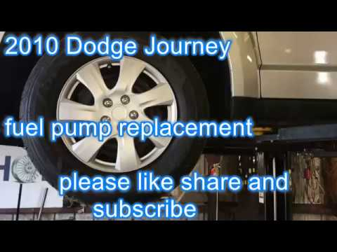 2010 dodge journey how to replace fuel pump youtube 2010 Honda Element Fuel Filter 2010 dodge journey how to replace fuel pump