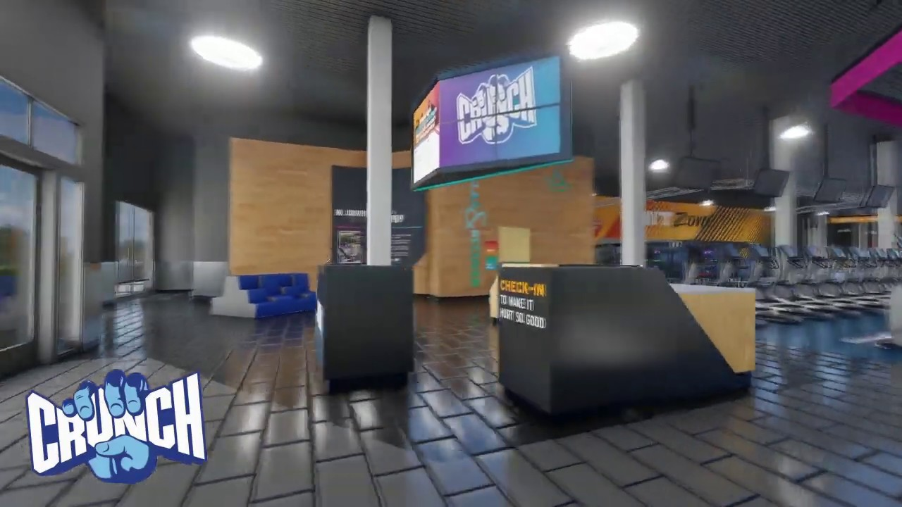Virtual Tour Of Crunch Worcester East Youtube