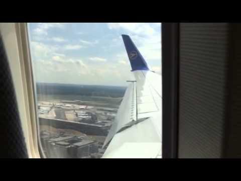 America.Flight Las Vegas-Frankfurt finished soft landing.!!!