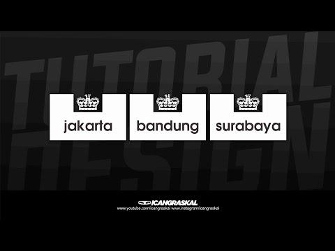 Cara Membuat Logo Weekend Offender City Series Indonesia Di Hp Android | Casuals Ultras