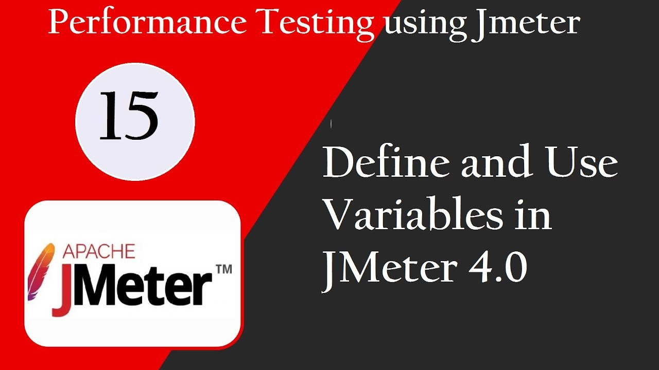 JMeter 4 0: Create and Use Variables in JMeter