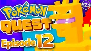 Pokemon Quest Gameplay Walkthrough - Episode 12 - CHARIZARD! TONS of Evolutions! (Nintendo Switch)