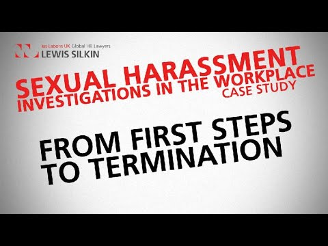 Cercla investigation process of sexual harassment