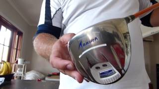Unboxing Video of my Japanese Golf Driver - Akira H209