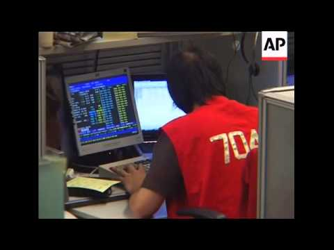 Stocks rise sharply on eased financial worries
