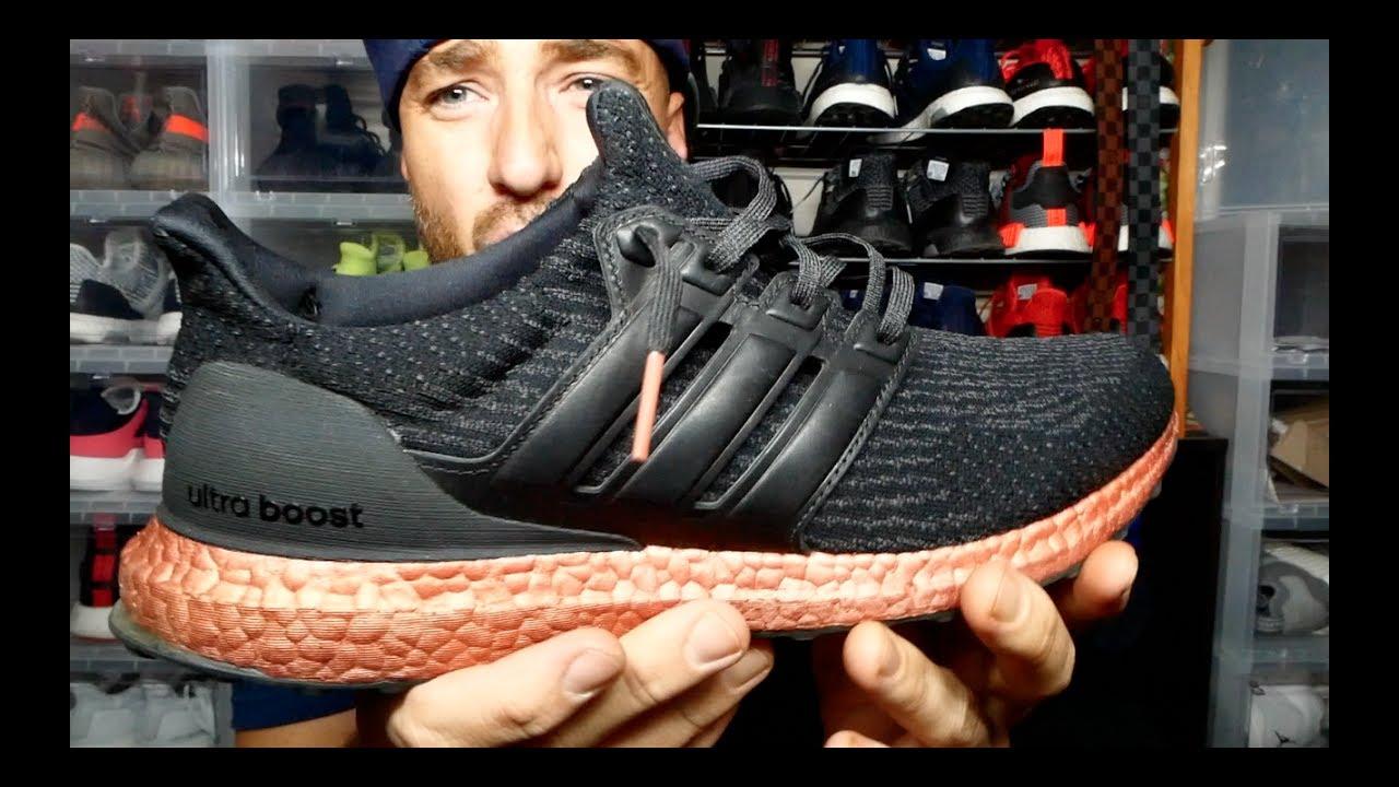 db60b120a Adidas Ultra Boost Tech Rust 3.0 Bronze Boost Review   On Feet!! + I won  the Yeezy Zebra Raffle!!!