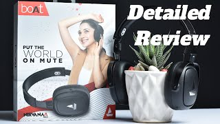 Boat Nirvana 717 ANC Headphone Unboxing & Detailed Review ! Boat Nirvana 717 ANC In-Depth Review.