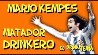 CAP: 41 MATADOR DRINKERO MARIO KEMPES