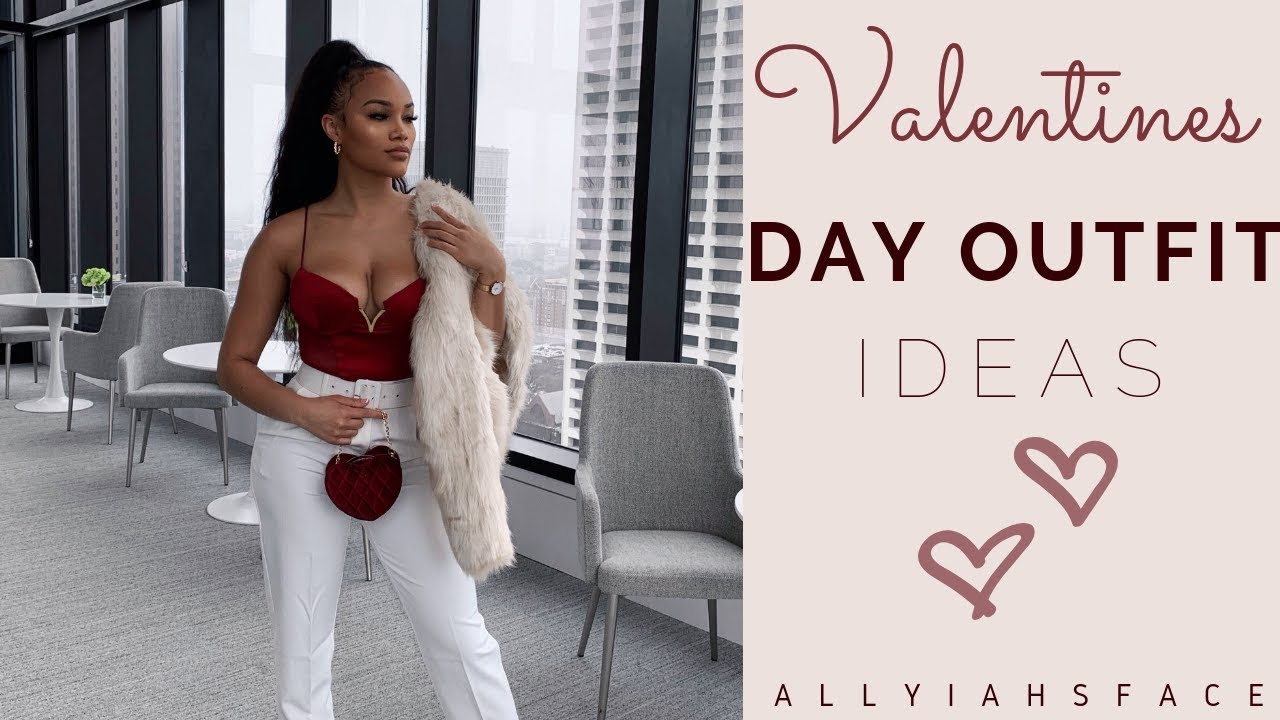 [VIDEO] - LAST MINUTE VALENTINES DAY OUTFIT IDEAS! | ALLYIAHSFACE 4