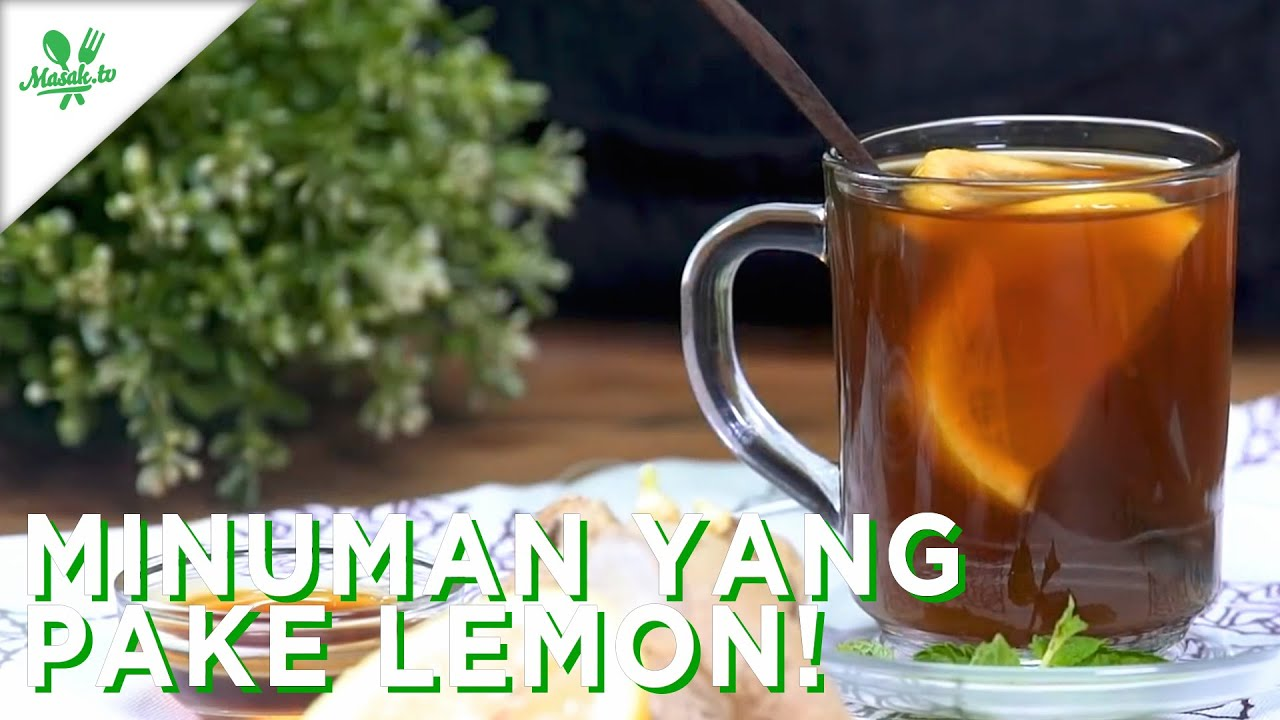 Minuman yang Pake Lemon!