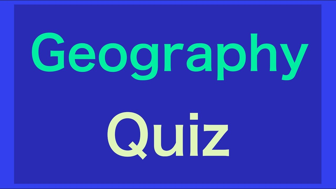 world geography trivia questions and answers pdf