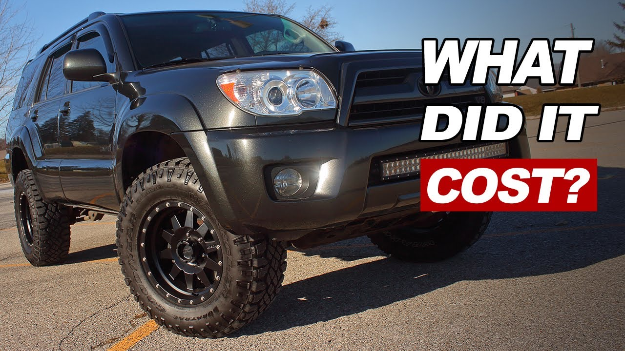 4th Gen Toyota 4runner Modifications