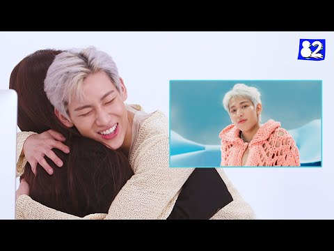 🎀 What if your bias came to you wrapped with a riBBon? - BamBam surprises his fans!