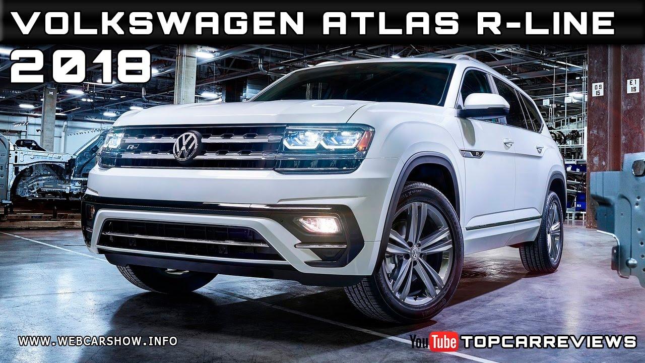2018 VW Atlas R-Line: Styling, Interior, Arrival >> 2018 Volkswagen Atlas R Line Review Rendered Price Specs Release Date