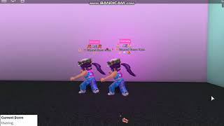 In your arms-Roblox Dance Team