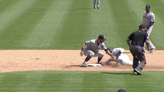 SA@DET: Sucre fires strike to nab Davis in 9th inning