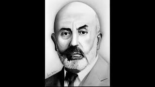 Mehmet Akif Ersoy Karakalem Portre Çizimi (GERÇEKÇİ) [ EĞİTİM ]