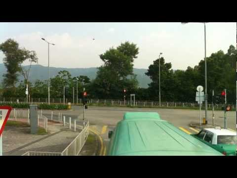 Bus journey Stop-motion in Kam Tin, Hong Kong