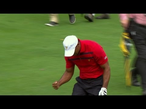 Tiger Woods' incredible approach at The Presidents Cup 2013