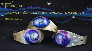 Tutorial - Galaxy Resin 3D Swirl Bracelet!
