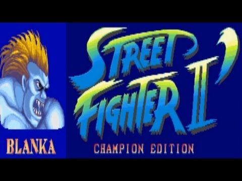 Street Fighter II - Champion Edition - Blanka (Arcade)