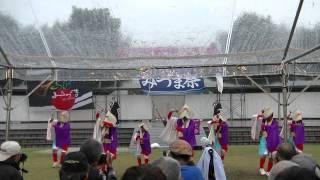 ふくこい踊り隊@YOSAKOIみづま たまるくん会場