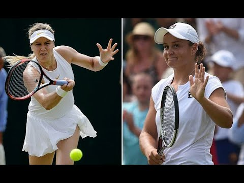 Breaking News -  Eugenie Bouchard loses in straight sets to Ashleigh Barty at Wimbledon