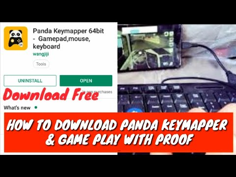 HOW TO DOWNLOAD PANDA KEYMAPPER & GAMEPLAY WITH  PROOF                       (AASSAMESE) {BIJIT RAY}