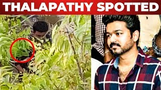EXCLUSIVE : Thalapathy Vijay Spotted At T.Nagar   THALAPATHY 63   Thalapathy Vijay
