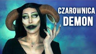 ♦ CZAROWNICA / DEMON - Makijaż na Halloween  ♦ Agnieszka Grzelak Beauty
