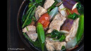 Pork Sinigang | How to Cook Sinigang Panlasang Pinoy