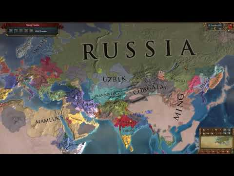 Europa Universalis IV - Relentless Push East Achievement (Completed Nov 11, 1562) |