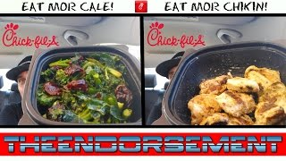 CHICK FIL A NEW SUPERFOOD SIDE & GRILLED NUGGET REVIEW # 231