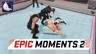 WWE 2K18: Epic Moments in the game #2 (the best one ever)