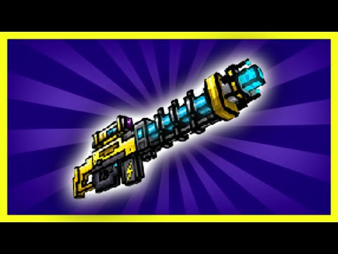 Pixel Gun 3D - Electro Blast Rifle UP1 [Review]