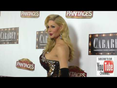 Cassandra Cass at the Opening Of Cabaret At Hollywood Pantages Theatre