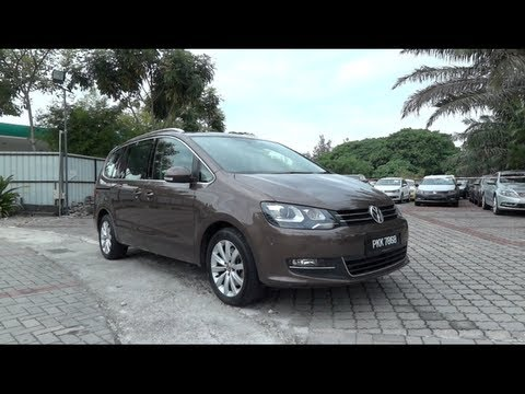 2011 Volkswagen Sharan 2.0 TSI Start-Up and Full Vehicle Tour