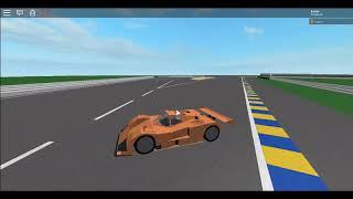 Circuit de la Sarthe mazda 787B (orange) / Roblox