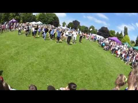 Chippenham Flash Mob June 2018