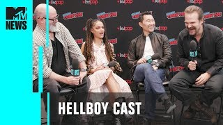 'Hellboy' Cast on the Film's High Expectations | MTV News