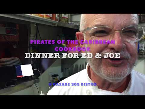 Dinner for Ed and Joe with Chef Diego Texeras