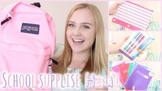 School Supplies Haul🍎 Thumbnail